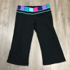 Lululemon Crop Yoga Pants 10